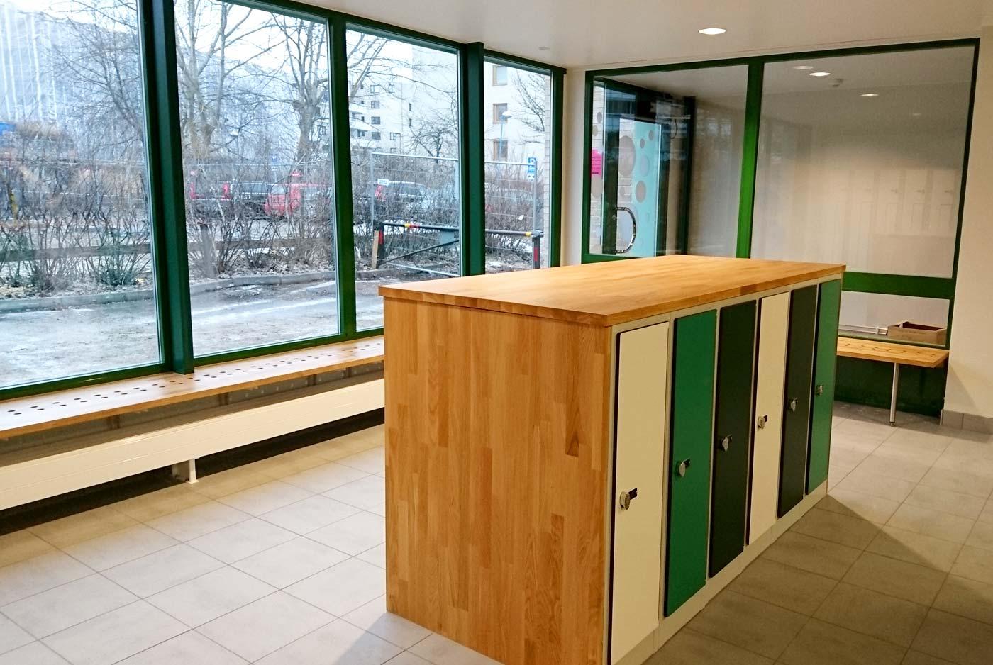 Heving & Hägglund - Byggprojekt - Ärvingeskolan