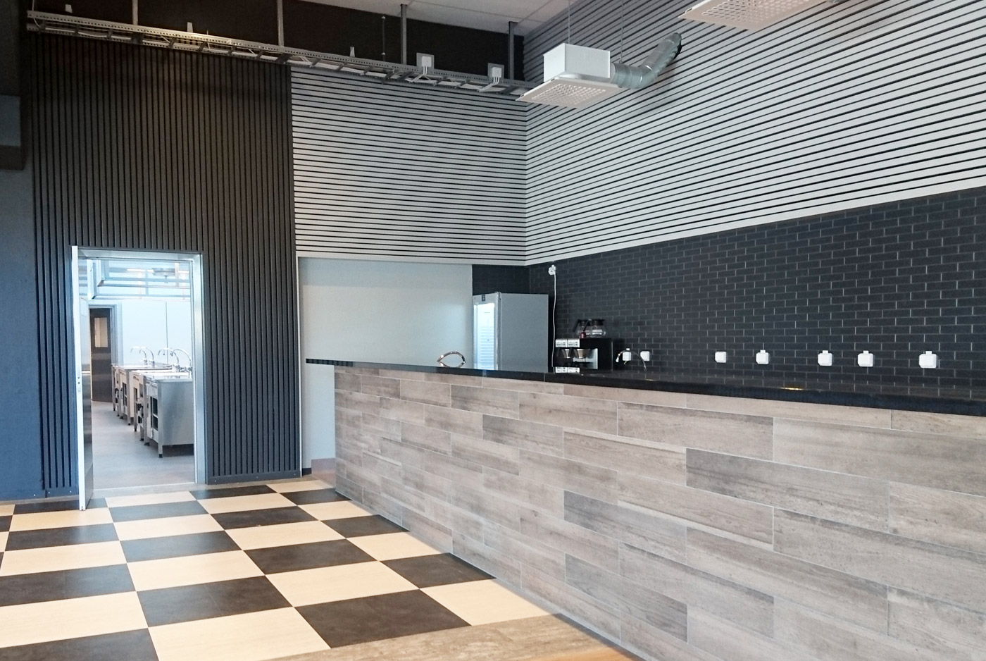 Heving & Hägglund - Byggprojekt - Åva Gymnasium Restaurangkök