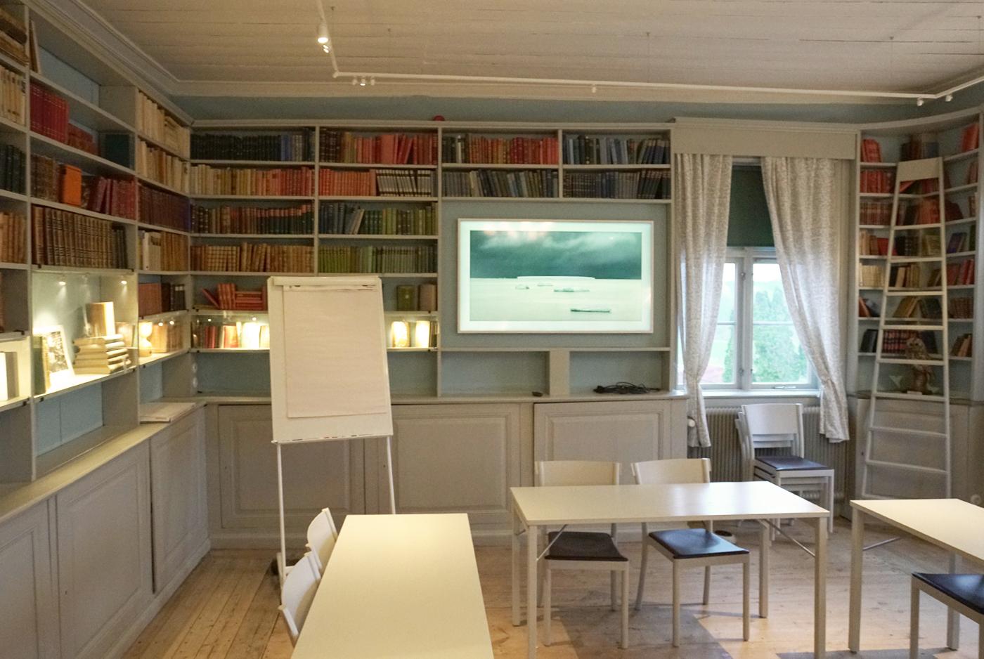 Heving & Hägglund - Byggservice - Ekebyhovs Slott Bibliotek