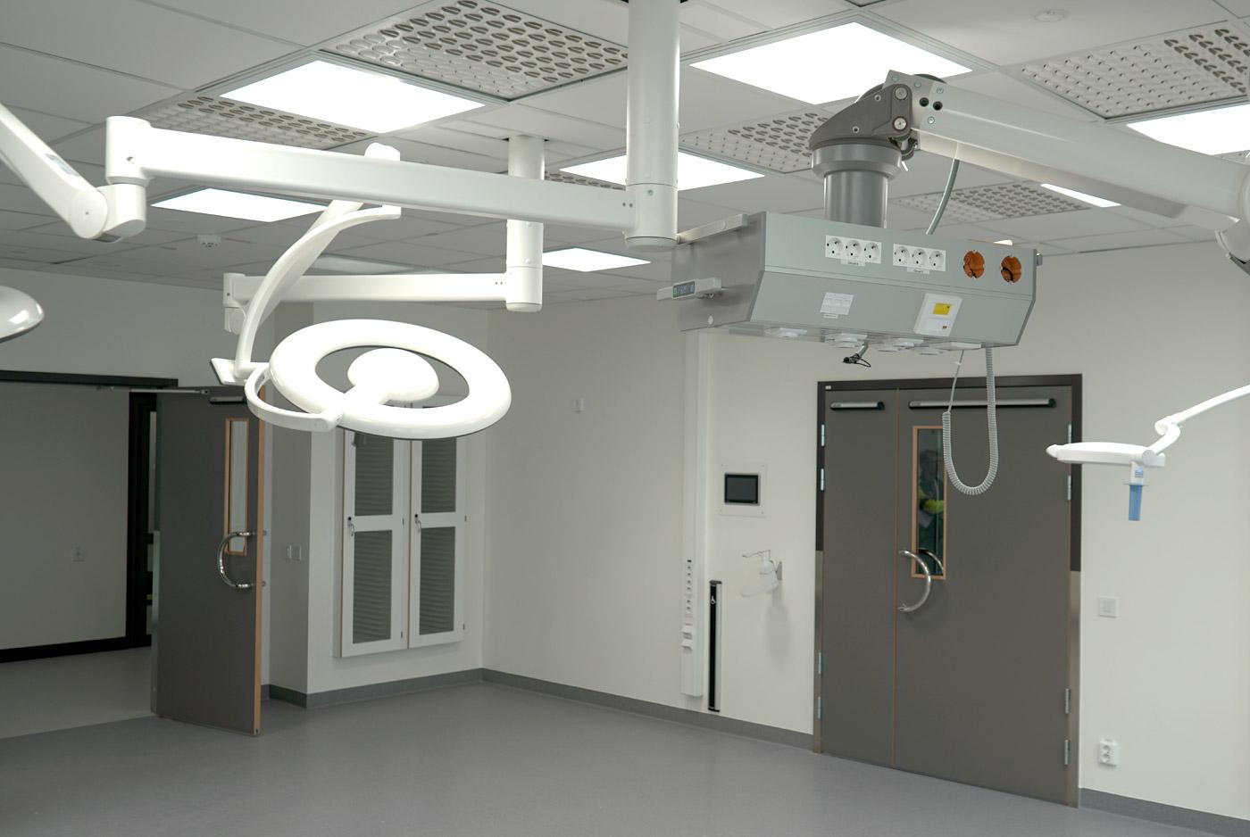 Heving & Hägglund - Byggprojekt - Huddinge Sjukhus B2 och B4