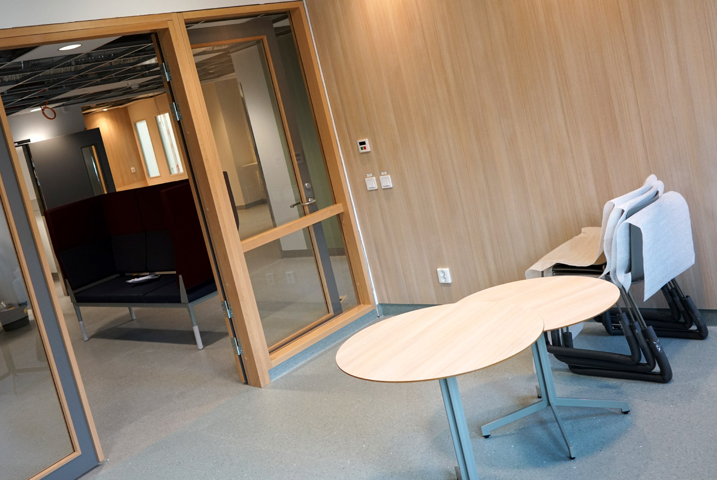 Heving & Hägglund - Byggprojekt - Huddinge Sjukhus Allmänpsykiatri