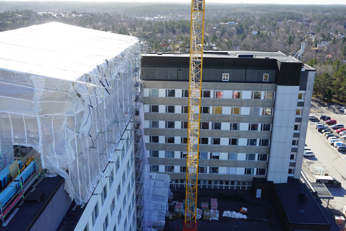 Nacka sjukhus - Byggprojekt - Heving & Hägglund