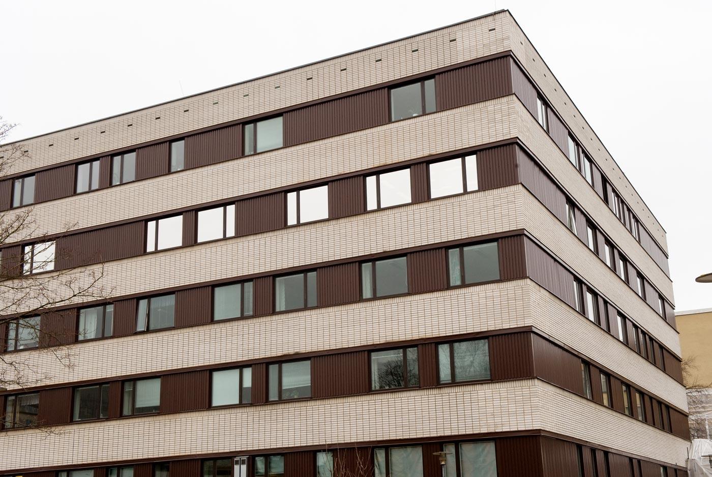 Heving & Hägglund - Byggservice - St Eriks Sjukhus - Fönsterrenovering