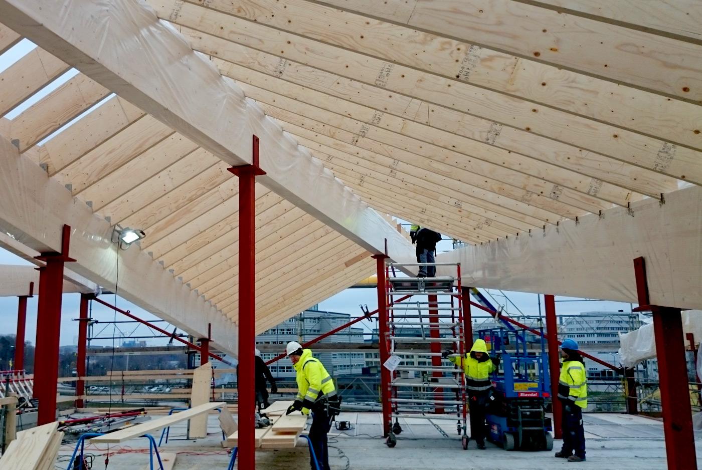Heving & Hägglund - Byggprojekt - Ursvikskolan